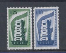 1956 - LOTTO/6306 - REPUBBLICA - EUROPA 2v.