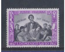 1957 - LOTTO/6326 - REPUBBLICA - SAN DOMENICO SAVIO