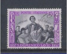 1957 - LOTTO/6326U - REPUBBLICA - S.D.SAVIO USATO