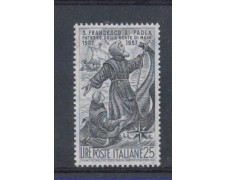 1957 - LOTTO/6327 - REPUBBLICA - S.FRANCESCO DI PAOLA