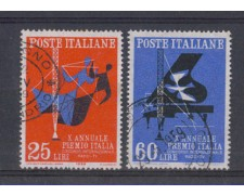 1958 - LOTTO/6343U - REPUBBLICA - PREMIO ITALIA USATI