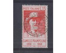 1959 - LOTTO/6350U - REPUBBLICA - C. PRAMPOLINI USATO