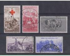 1959 - LOTTO/6352U - REPUBBLICA - GUERRA D'INDIPENDENZA USATI