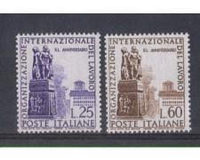 1959 - LOTTO/6353 - REPUBBLICA - O.I.L. 2v.
