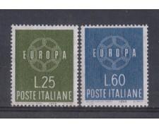 1959 - LOTTO/6356 - REPUBBLICA - EUROPA 2v.
