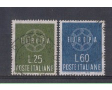 1959 - LOTTO/6356U - REPUBBLICA - EUROPA 2v. USATI