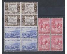1960 - LOTTO/6359Q - REPUBBLICA - SPEDIZIONE DEI MILLE QUARTINE