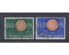 1960 - LOTTO/6362U - REPUBBLICA - EUROPA 2v. USATI
