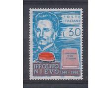 1961 - LOTTO/6387 - REPUBBLICA - IPPOLITO NIEVO