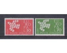 1961 - LOTTO/6396 - REPUBBLICA  - EUROPA 2v.