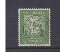 1961 - LOTTO/6397U - REPUBBLICA - G. ROMAGNOSI  USATO