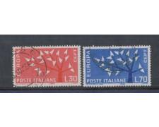 1962 - LOTTO/6404U - REPUBBLICA - EUROPA 2v. USATI