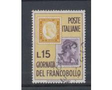 1962 - LOTTO/6407U - REPUBBLICA - G. FRANCOBOLLO USATO
