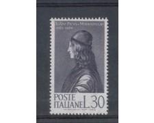 1963 - LOTTO/6410 - REPUBBLICA - PICO DELLA MIRANDOLA