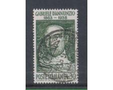 1963 - LOTTO/6411U - REPUBBLICA G. D'ANNUNZIO USATO