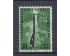 1963 - LOTTO/6414U - REPUBBLICA - IST.NAZ. ASSICURAZIONI USATO