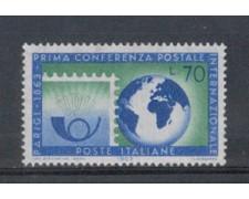 1963 - LOTTO/6415 - REPUBBLICA - CONFERENZA POSTALE