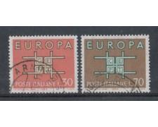 1963 - LOTTO/6418U - REPUBBLICA - EUROPA 2v. USATI