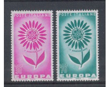 1964 - LOTTO/6428 - REPUBBLICA - EUROPA 2v.