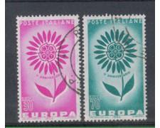 1964 - LOTTO/6428U - REPUBBLICA - EUROPA 2v. USATI