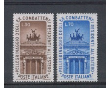 1964 - LOTTO/6433 - REPUBBLICA - EX COMBATTENTI 2v.