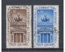 1964 - LOTTO/6433U - REPUBBLICA - EX COMBATTENTI USATI