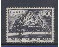 1965 - LOTTO/6439U - REPUBBLICA - TRAFORO MONTE BIANCO USATO