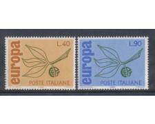 1965 - LOTTO/6441 - REPUBBLICA - EUROPA 2v.