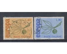 1965 - LOTTO/6441U - REPUBBLICA - EUROPA 2v. USATI