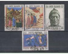 1965 - LOTTO/6442U - REPUBBLICA - DANTE ALIGHIERI 4v. USATI