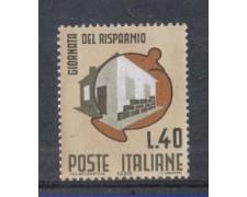 1965 - LOTTO/6443 - REPUBBLICA - GIORNATA RISPARMIO