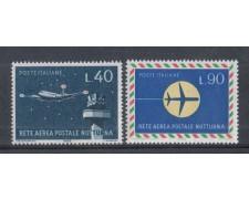 1965 - LOTTO/6444 - REPUBBLICA - RETE AEREA POSTALE