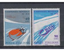 1966 - LOTTO/6446 - REPUBBLICA - MONDIALI DI BOB