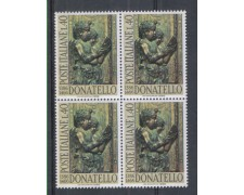 1966 - LOTTO/6455Q - REPUBBLICA - DONATELLO QUARTINA