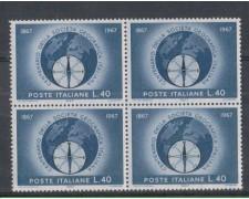 1967 - LOTTO/6460Q - REPUBBBLICA - SOCIETA' GEOGRAFICA QUARTINA