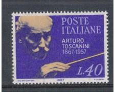 1967 - LOTTO/6461 - REPUBBLICA - ARTURO TOSCANINI