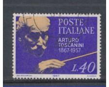 1967 - LOTTO/6461U - REPUBBLICA - ARTURO TOSCANINI USATO