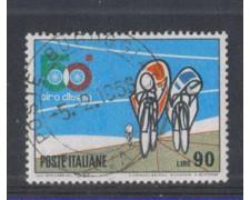 1967 - LOTTO/6466UB - REPUBBLICA - 90 L. GIRO D'ITALIA USATO