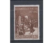 1967 - LOTTO/6473 - REPUBBLICA - GIURAMENTO DI PONTIDA