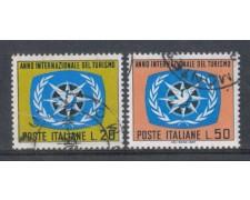 1967 - LOTTO/6474U - REPUBBLICA - ANNO DEL TURISMO USATI