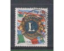 1967 - LOTTO/6475U - REPUBBLICA -  LIONS CLUB USATO