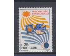 1967 - LOTTO/6479 - REPUBBLICA - GIORNATA FRANCOBOLLO