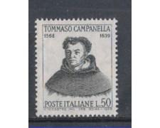 1968 - LOTTO/6507 - REPUBBLICA - TOMMASO CAMPANELLA