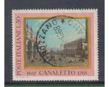 1968 - LOTTO/6508U - REPUBBLICA - IL CANALETTO USATO