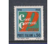 1968 - LOTTO/6511 - REPUBBLICA - CONTI CORRENTI