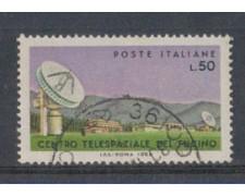 1968 - LOTTO/6512U - REPUBBLICA - CENTRO SPAZIALE  USATO