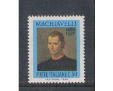 1969 - LOTTO/6518 - REPUBBLICA - N. MACCHIAVELLI