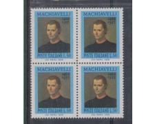 1969 - LOTTO/6518Q - REPUBBLICA - N.MACCHIAVELLI  QUARTINA