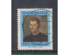 1969 - LOTTO/6518U - REPUBBLICA - N.MACCHIAVELLI USATO