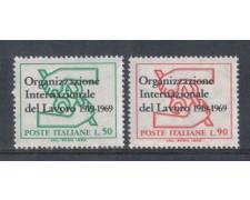 1969 - LOTTO/6519 - REPUBBLICA - ORGANIZ. LAVORO